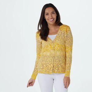 ISAAC MIRAHI Button Cardigan Sweater
